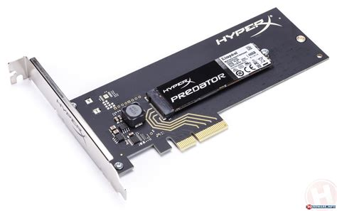 kingston hyperx predator 480gb pcie x4 ssd review snelle
