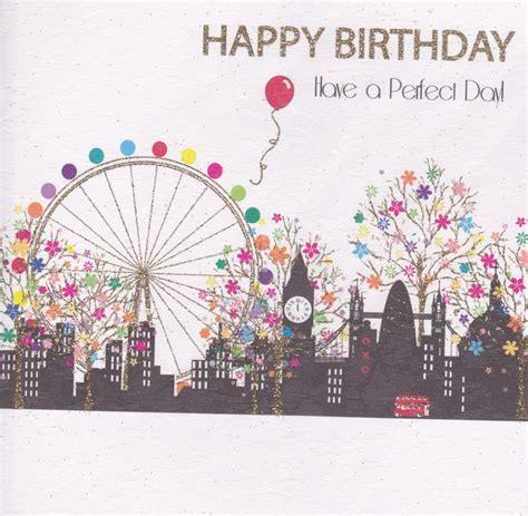 The Wee Card Shop : Buy Happy Birthday Have a Perfect day