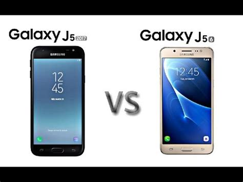 samsung galaxy j5 2017 vs galaxy j5 2016 early specs comparision