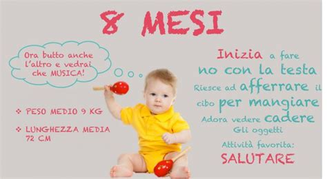 alimentazione 6 mesi neonato neonato 8 mesi alimentazione sonno peso e progressi