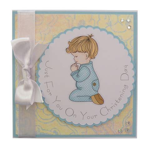Christening Handmade Cards - handmade christening card boy 163 2 00 cards to