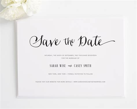 wedding save the date text exles stylish script save the date cards save the date cards by shine