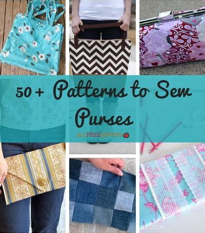 Minibags Are So Easy To Wear by 50 Patterns To Sew Purses Allfreesewing