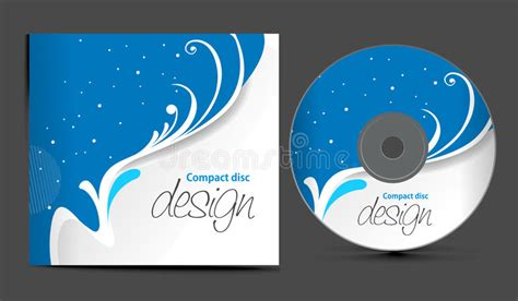 design free cd cover cd cover design stock vector illustration of decoration