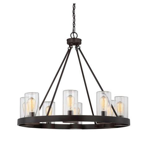Outdoor Hanging Chandelier Filament Design 8 Light Bronze Outdoor Hanging Chandelier Ect Sh258589 The Home Depot