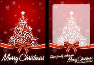How to create your own christmas card ready for print tutzor