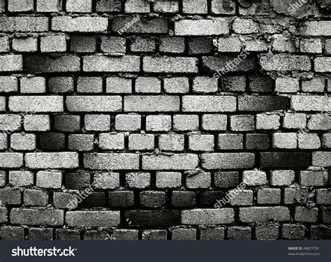 broken brick wall stock illustration 44877781 shutterstock