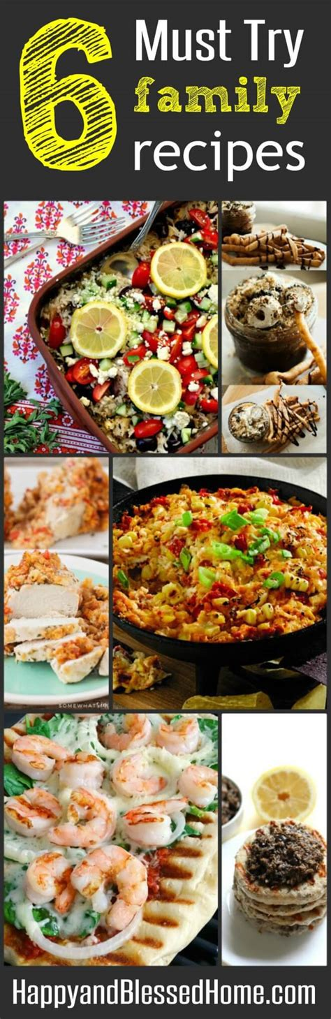 6 must try family recipes at family friday happy and
