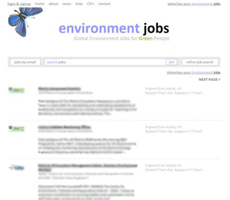 Design For Environment Jobs | environment jobs data driven website macro design