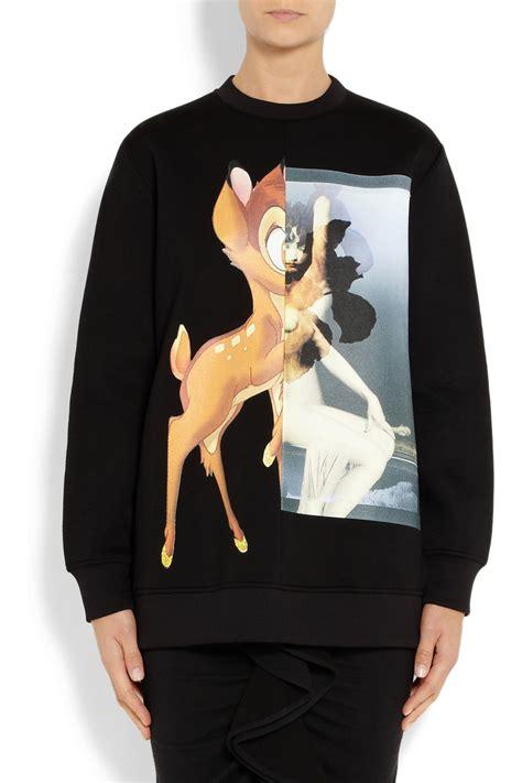 Sweatshirt Print lyst givenchy print sweatshirt in black