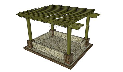 free pergola plans attached pergola plans myoutdoorplans free woodworking plans and projects diy shed wooden