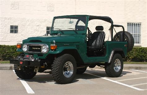 Toyota Land Cruiser Jeep 1978 Toyota Land Cruiser Fj 40 Jeep 22988