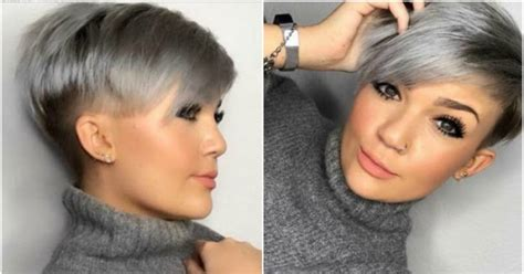 super trend grau frisuren