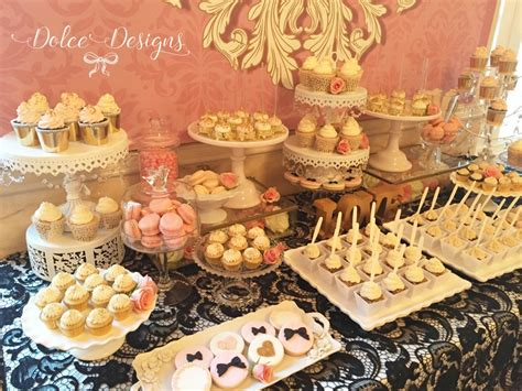 desserts table style dessert table dolce