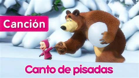libro oso panda oso panda masha y el oso canto de pisadas rastreadora de animales desconocidos nueva canci 243 n infantil