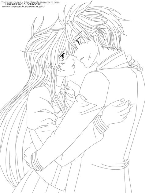 anime couple coloring pages timeless miracle com