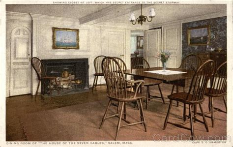 dining room sets massachusetts dining room of quot the house of the seven gables quot salem ma