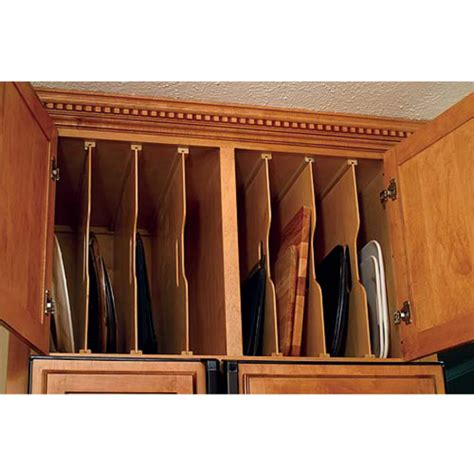 kitchen cabinet divider organizer tra sta kitchen tray dividers by omega national kitchensource com