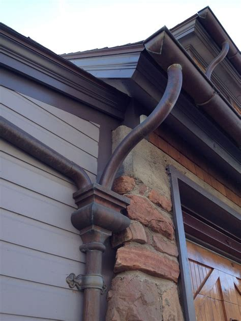 best 25 copper gutters ideas on pinterest