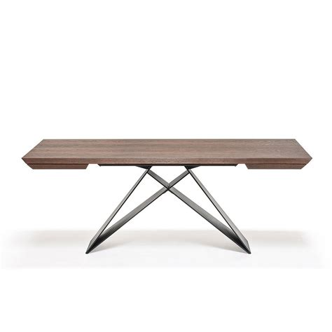 Cattelan Italia Premier Wood Drive Dining Table Small Small Wood Dining Tables