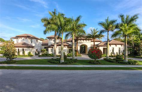 palm beach home builders 12 95 million newly built mediterranean mansion in palm