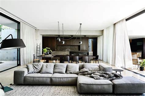cucine soggiorno unico ambiente arredare cucina e soggiorno in ambiente unico helle kitchen