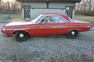 Dodge Polara 1964 1964 Dodge Polara Max Wedge Never Restored No Rust