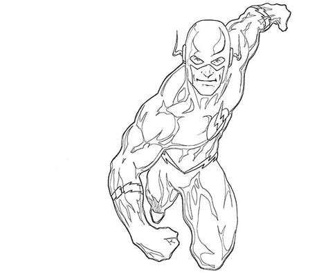 flash coloring pages coloring home