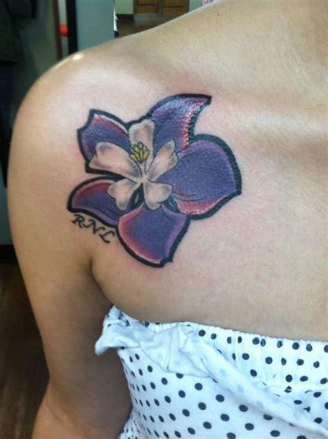 columbine flower tattoo 50 best tattoos images on inspiration tattoos