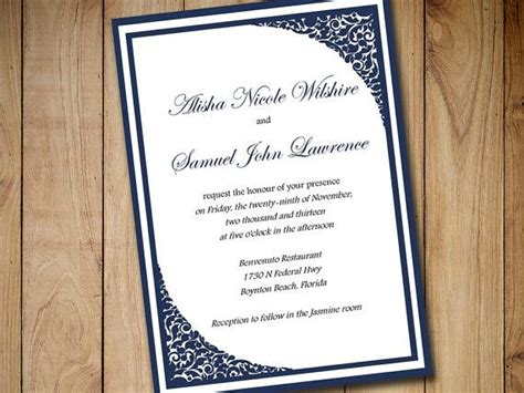 17 best ideas about formal invitations on pinterest