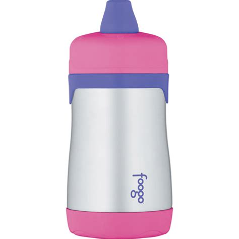 Foogo Food Jar 10 Oz Thermos Blue Pink thermos foogo phases 10 oz leak proof stainless steel