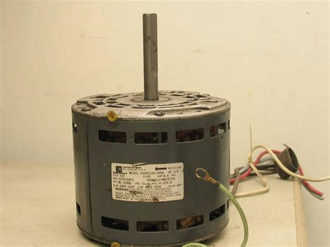 emerson blower motor emerson k55hxjag 4956 furnace blower motor 1 3 hp 1075 rpm