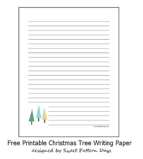 tree writing paper tree lined writing paper