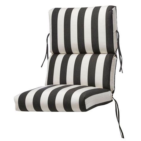 home decorators outdoor cushions home decorators collection sunbrella maxim classic outdoor dining chair cushion 1573310260 the