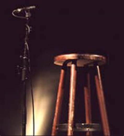 Stage Stool by An Open Letter To The Open Mic Points In