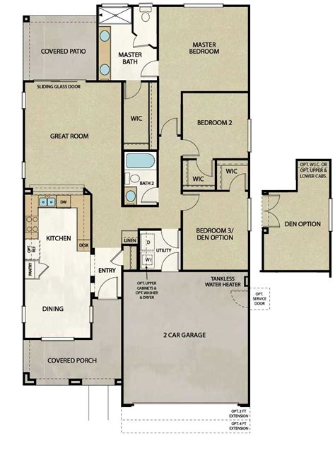 elliott homes floor plans elliott homes plan 402 at araby crossing floorplans