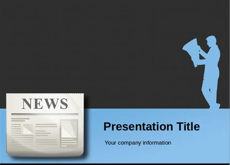 news powerpoint template powerpoint newspaper template 21