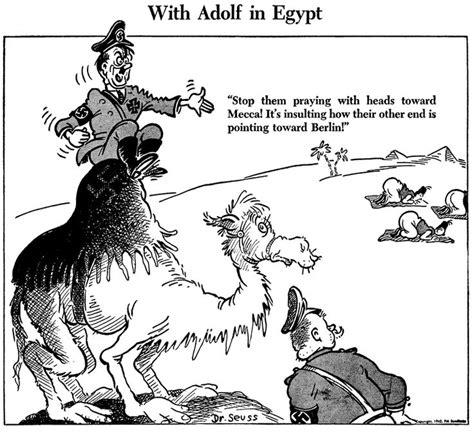 dr seuss goes to war the world war ii editorial of theodor seuss geisel dr seuss political july 4 1942 wwll us war