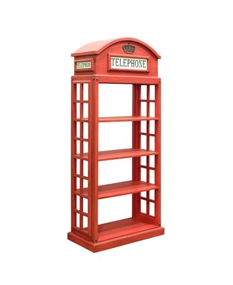 london phone booth bookcase london red telephone booth bookcase