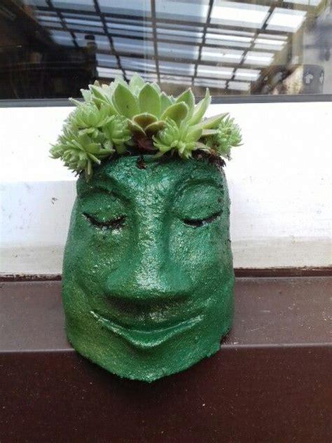 Blumentopf Kopf