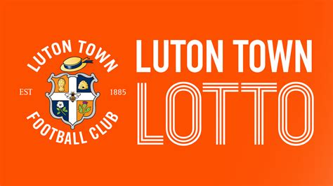 luton town lotto launches  support  academy news