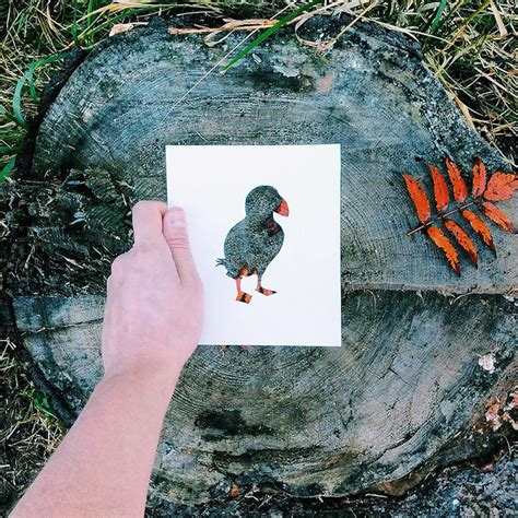 russian artist  beautiful backdrops  nature  fill paper cut outs  animals
