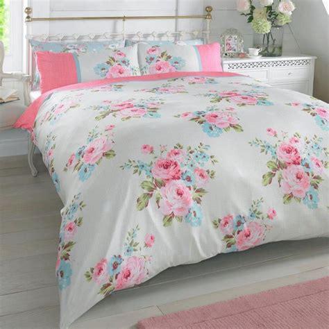 floral comforter sets king size rosie floral pink duvet cover set reversible bedding roses