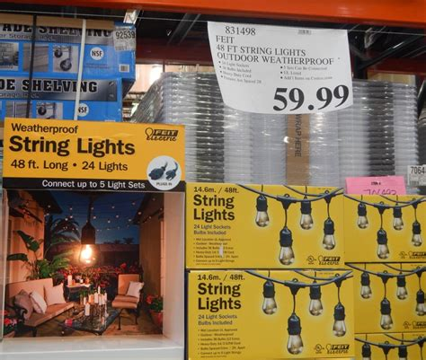 24 wonderful outdoor string lights costco canada
