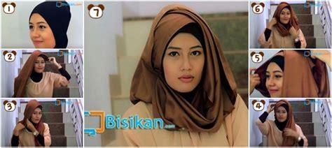 tutorial hijab pashmina acara formal tutorial hijab pashmina untuk acara formal 2