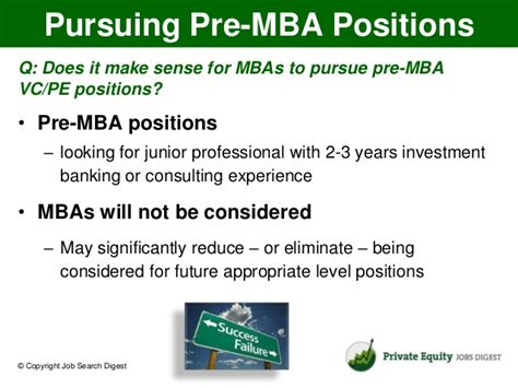 Pre Mba Internship Equity by Questions On Equity Careers