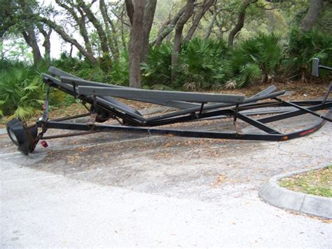 pontoon boat trailer craigslist pontoon trailer and sail boat for sale the hull truth