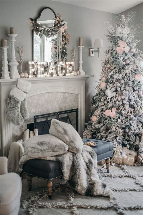 christmas home decor ideas pinterest christmas decorating trends 2017