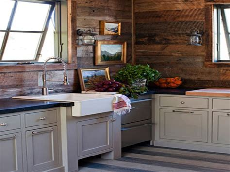 cabin kitchens ideas country cottage wall decor rustic cabin kitchen ideas log
