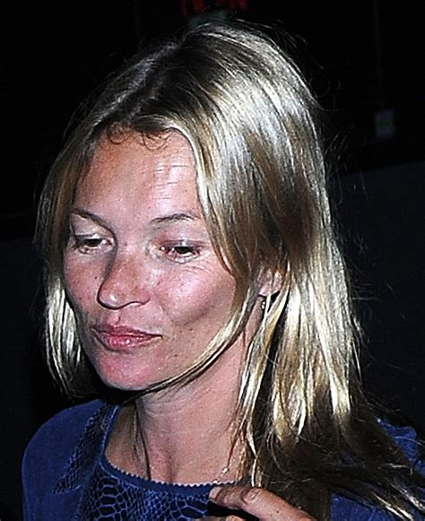 Kate Moss Spices Up by Kate Moss Goes Without Make Up On Out Pictures